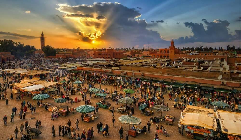 Plaza Jeema el fna Marrakech