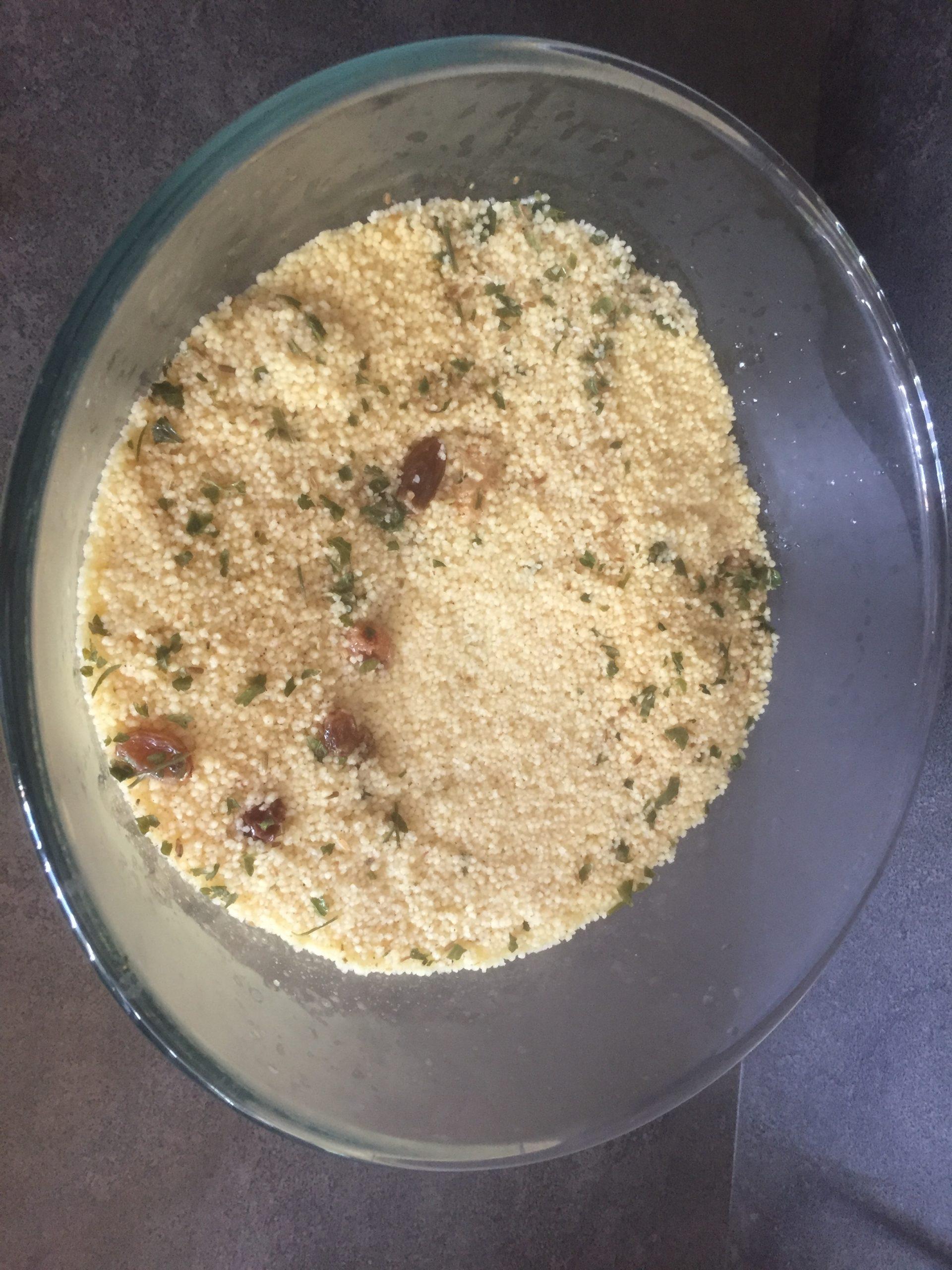 receta couscous semola