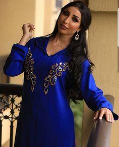 Chilaba mujer Marruecos